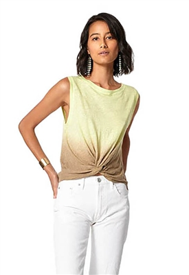 Young Fabulous & Broke Collins Tank in Soft Neon Ombre