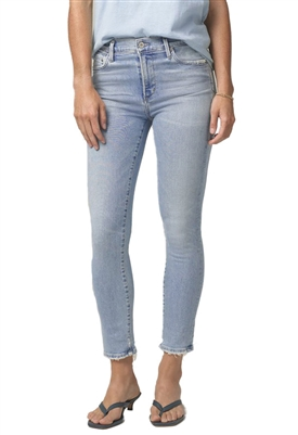 Citizens of Humanity Rocket Crop Mid Rise Skinny Jeans in Soft Fade