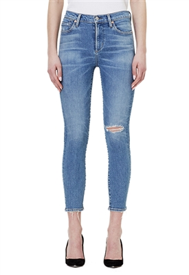 Citizens of Humanity Rocket Crop High Rise Skinny Jeans in Keeper