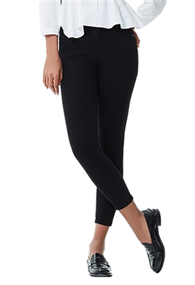 Citizens of Humanity Rocket Crop Mid Rise Skinny in All Black