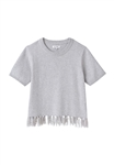 DL1961 Ella Toddler (Girls) Sweater in Heather Grey