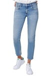 Citizens of Humanity Elsa Mid Rise Slim Fit Crop in Refresh