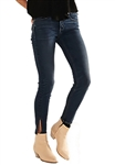 McGuire Newton Side Slit Skinny Jean in Tropicana