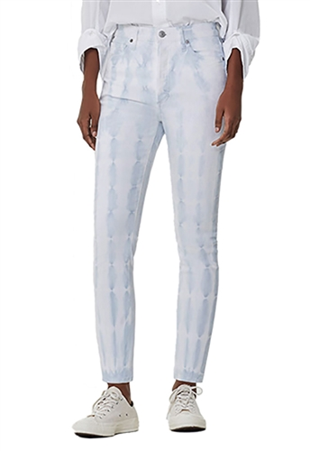 Citizens of Humanity Harlow Ankle High Rise Slim in Cloud Tie Dye