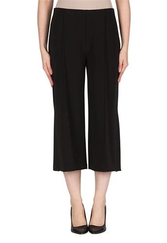Joseph Ribkoff Gaucho Pants in Black