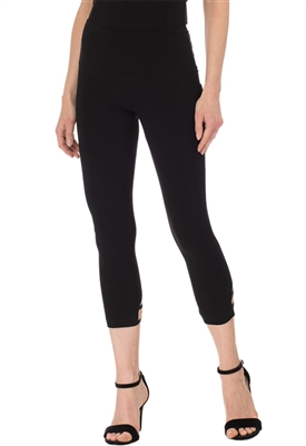 Joseph Ribkoff Capri Legging in Black