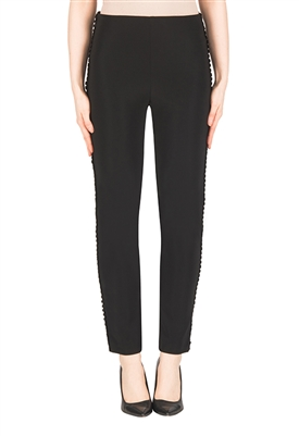 Joseph Ribkoff Slim Fit Pants in Black