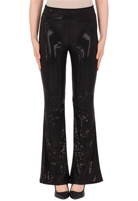 Joseph Ribkoff Bell Bottom Pant in Black
