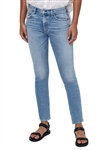 Citizens of Humanity Skyla Mid Rise Cigarette Pant in Julep