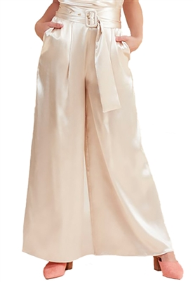 Finders Keepers Songbird Pants in Champagne