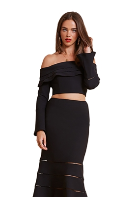 Finders Keepers Immortal Top in Black