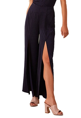 Finders Keepers Flamenco Pant in Navy Stripe