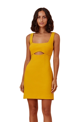 Finders Keepers Nadia Mini Dress in Mango