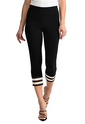 Joseph Ribkoff Crop Legging in Black