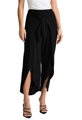 Joseph Ribkoff Wrap Pant in Black