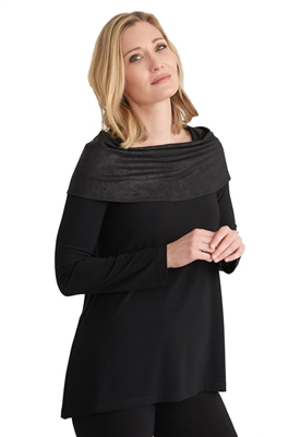 Joseph Ribkoff Tunic in Black