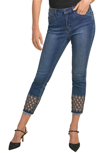 Joseph Ribkoff Diamond Cut Jeans