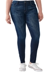 "DL1961 Florence 30"" Mid Rise Skinny Jean in Pulse"