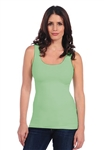 Tees by Tina Smooth Tank in Celery