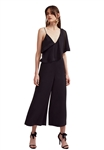 Keepsake No Love Jumpsuit in Black