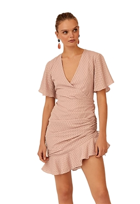 Keepsake Insight Mini Dress in Rose