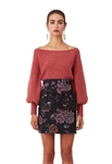 Keepsake Like This Knit Top in Dusty Pink