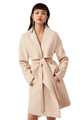 Keepsake The Label Lucky Coat in Creme