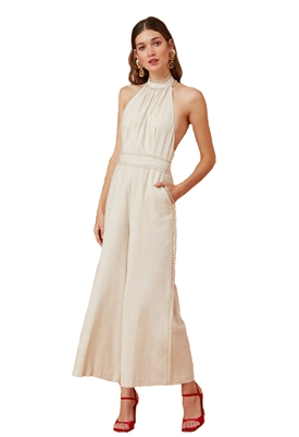 Keepsake the Label Everlasting Jumpsuit in Natural