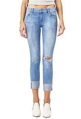 DL1961 Farrow Ankle High Rise Skinny in Amarillo
