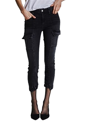McGuire Valenti Cargo Trouser in Ace Of Spades