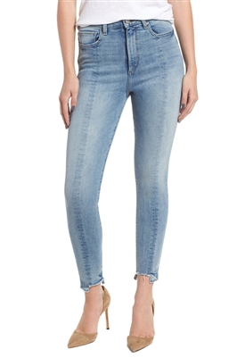 DL1961 Chrissy Trimtone High Waist Skinny Jeans in Reeves Wash