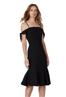 Bailey 44 Solid Ipanema Dress in Black
