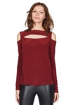 Bailey 44 Slay Top in Garnet