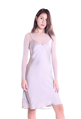 Bailey 44 Body Double Dress in Taupe