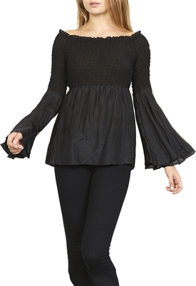 Bailey 44 Shoot The Breeze Top in Black