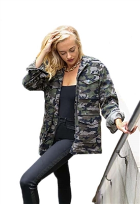 Blue Revival Sierra Camo on Camo Jacket