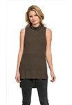 Feel The Piece by Terre Jacobs Flynn Top in Olive
