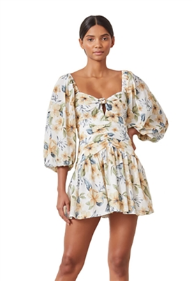 Bec & Bridge Fleurette Fit & Flare Mini Dress