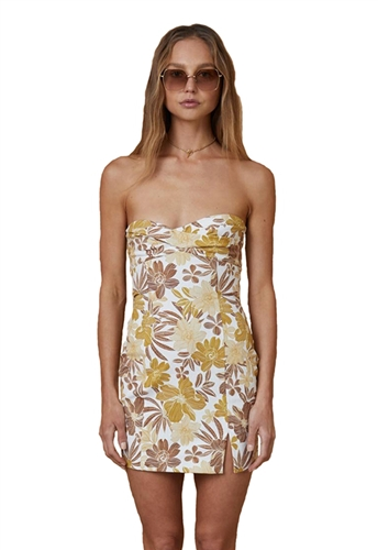 Bec & Bridge Clara Strapless Mini Dress