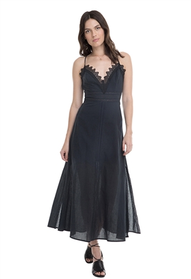 ASTR The Label Stefania Maxi Dress in Black