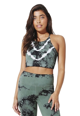 Electric & Rose Quinn Bra in Camo Onyx