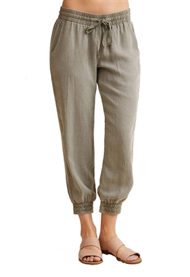 Bella Dahl Pocket Jogger in Soft Army