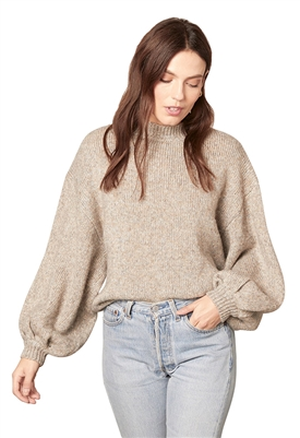 BB Dakota Tried To Warm You Sweater in Heather Grey