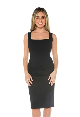 Blaque Label Sheath Dress in Black