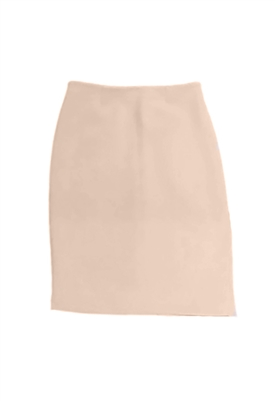Blaque Label Pencil Skirt with Side Slit in Rose