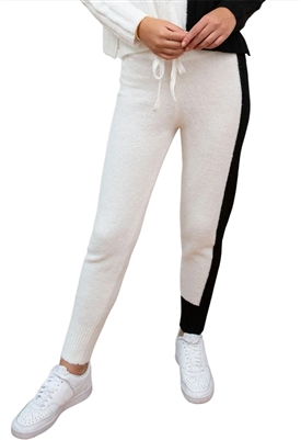 Central Park West Acacia Pant in Black & White