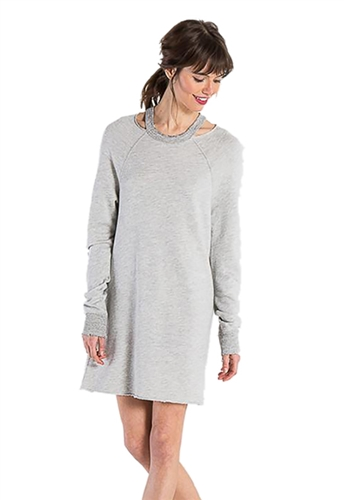 n:Philanthropy Porter Dress in Heather Grey