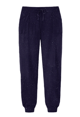 525 America Lurex Jogger Pant in True Navy