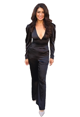 Fame and Partners Teri Jumpsuit in Black