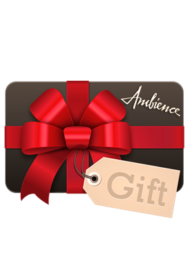 ShopAmbience gift certificates are the perfect gift for anyone that loves designer fashion and shopping.  This gift tells her you love her style.  ShopAmbience gift certificates do not expire and may be combined with any promotions or rebates.